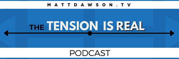 The TENSION is Real PODCAST EMAIL HEADER